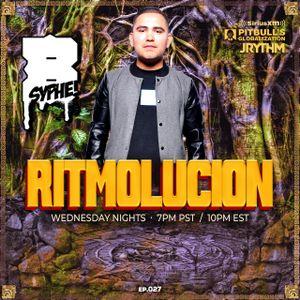 RITMOLUCION WITH J RYTHM EP. 027: BIG SYPHE & CHUEY MARTINEZ