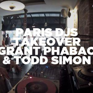 Grant Phabao w/ Todd Simon • Paris DJs Takeover • LeMellotron.com