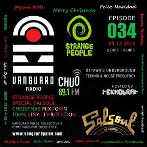 VANGUARD RADIO Episode 034 with TEKNOBRAT - 2016-12-24th CHUO 89.1 FM Ottawa, CANADA