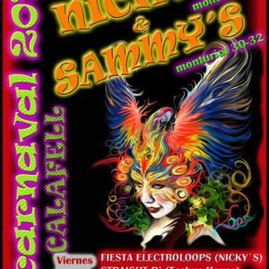 Straight Dj - Electroloops Carnival Party @ Nicky's 17-02-2012 (TECH HOUSE-TECHNO)