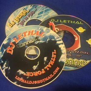 """DJ LETHAL - CD001 -  """"LETHAL FORCE""""  2003 REACTIVE @ Static - 1st Demo CD I EVER Gave Out !!"""