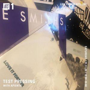 Test Pressing - 21st November 2020