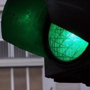April prepares her green traffic light and the world thinks Go.