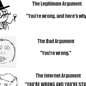 Worthless and Unwarranted Arguments