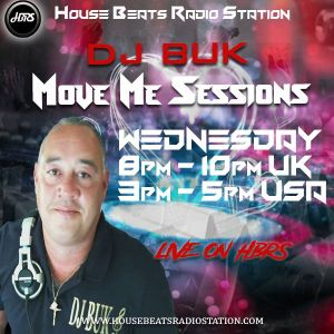 DJ BUK Presents Move Me Sessions Live On HBRS 16 - 01 - 19