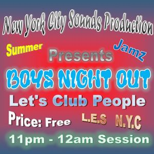 Let's_Club_People (Series E #142) 11pm - 12am Session