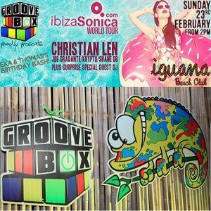 MOODWAX - IBIZA SONICA ON TOUR @ IGUANA BEACH CLUB PART I ( PHUKET, THAILAND) - 23rd FEBRUARY 2014
