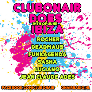 Club on Air nr. 167 with special Guest Jean Claude Ades