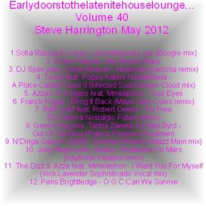 Earlydoorstothelatenitehouselounge... Volume 40 Steve Harrington May 2012