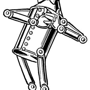 Tin Woodman - Finger Stuck In Can - Set