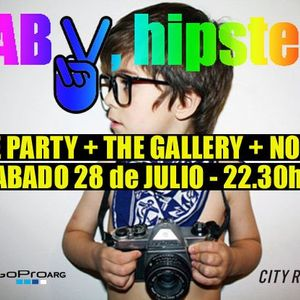 Luis Masi Live Warm Up @ Hipster Baby! July 2012 (Part 1)