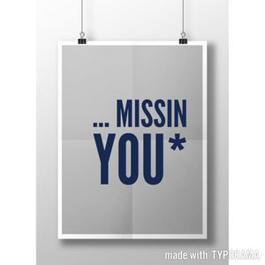 ...missing you*