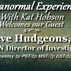 Paranormal Experienced with Kat Hobson 20160427 Steve Hudgeons Jr.