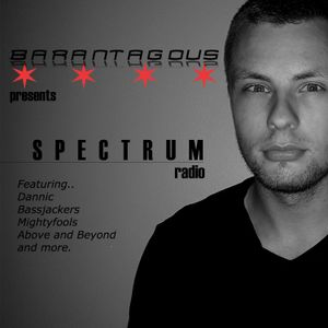 Barantagous Presents Spectrum Radio Episode 059 feat. Dannic, Above and Beyond, Marshmello and more.