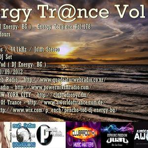 Pencho Tod ( DJ Energy- BG ) - Energy Trance Vol 178