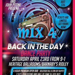 Power Play Presents Danny DJ NOVA Back in The Day Mix 4