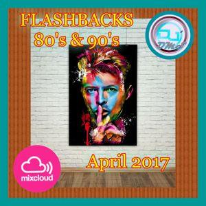 DJ DMS - Flashbacks 80's & 90's April 2017