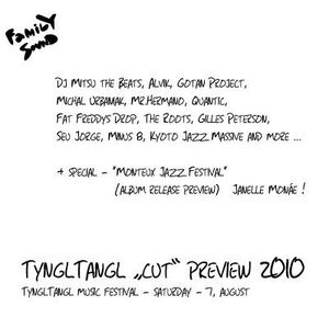 "Nuworldfamily present ""Tyngltangl ""cut"" preview 2010 "", ""We love youngprimitive..."""
