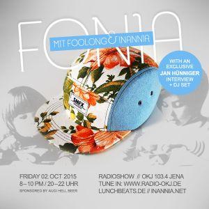 Fonia Radio Show - Session 34 (Jan Hünniger aka SMFX)