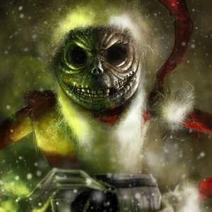 Hardtechno am Weihnachten