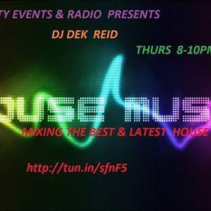 Dj Dek Reid Live On Infinity Events & Radio 24-3-16