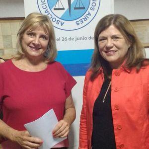 Presidenta de la casa, Dra. María del Carmen Besteiro