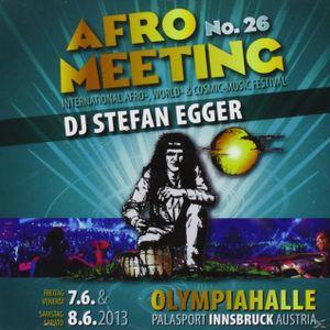 DJ Stefan Egger - Afro Meeting 2013 - Live - Samstag