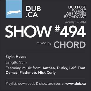DUB:fuse Show #494 (January 12, 2013)