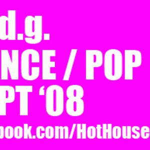 m.d.g.'s dance/pop mix September 2008