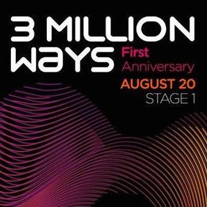 Mike Morales - 3 Million Ways Radio Show 1st Anniversary Guest Mix - 20 - 08 - 2011