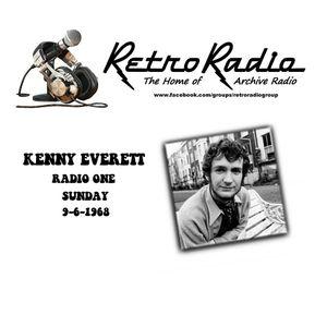 KENNY EVERETT - RADIO ONE - 9-6-1968