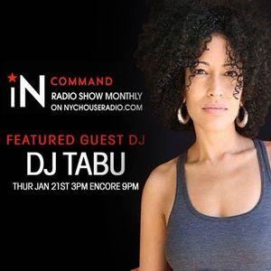 IN -COMMAND RADIO #005 SALIVA COMMANDOS GUEST DJ TABU