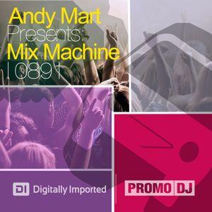 Andy Mart - Mix Machine@DI.FM 089 - NEW SEASON 2011!