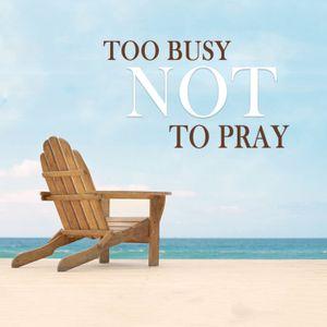 God Invites Us to Talk to Him