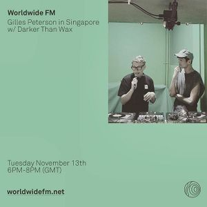 SGCR Radio Show SPECIAL EPISODE ft. Gilles Peterson (WorldWideFM) & Funk Bstrd (Darker Than Wax)