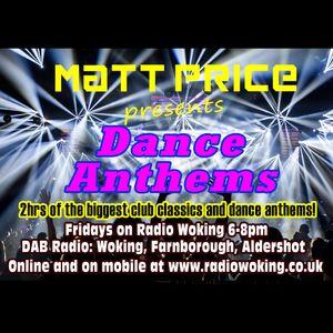 Dance Anthems on Radio Woking 23rd June 2017