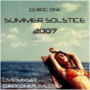 Dj Roc One - Summer Solstice 2007