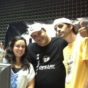20-07-2013 - Entrevista a Nacidos de la Tierra en The Club FM (Madrid - España)