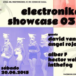 alber F & IntheFog - Electronikers Showcase 03 @ 10club 20.06.2015 (closing set)