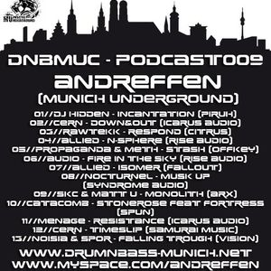 DnB Muc Podcast Mix by Andreffen