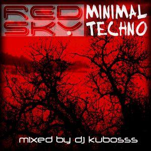 Red sky minimal techno