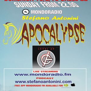 Apocalypse radioshow on Mondoradio 10/02/2019 episode#86 Stefano Antonini