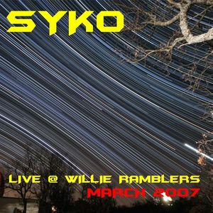 My first LIVE recorded mix in a club - 2007 (Willie Ramblers, Enniskillen)