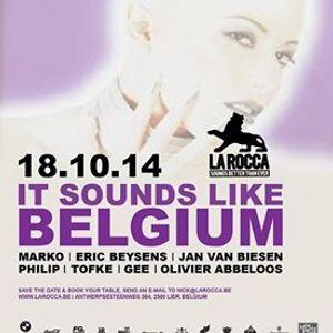 dj Eric Beysens @ La Rocca - It Sounds Like Belgium 18-10-2014