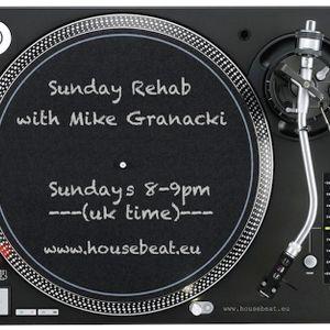Sunday Rehab 25 - Mike Granacki - HouseBeat Radio - 27092015