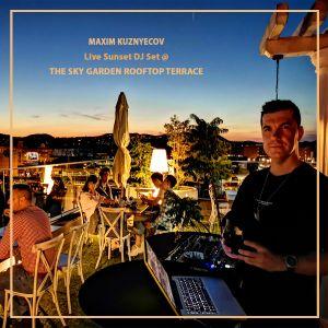 Maxim Kuznyecov - LIVE @ The Sky Garden Rooftop Terrace (2020-09-06)