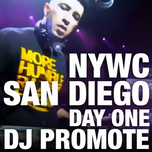 Dj Promote Live in San Diego, CA - 10/13/12 - #NYWC Day 1 Highlights