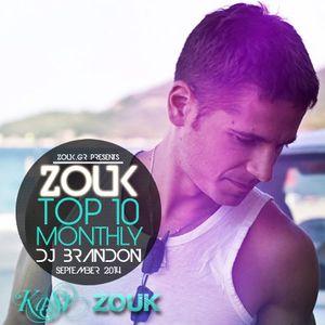 September 2014, Brazilian Zouk Top 10, DJ Brandon