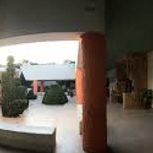 Sala de exposiciones de la zona arqueológica de Uxmal