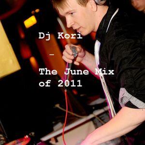 Dj Kori - The June mix of 2011